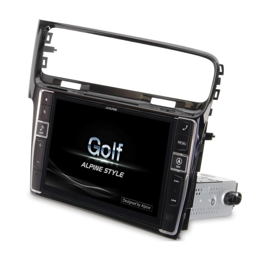 alpine i902d g7 multimedia systeem volkswagen golf 7. Black Bedroom Furniture Sets. Home Design Ideas