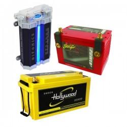 accu's & condensatoren